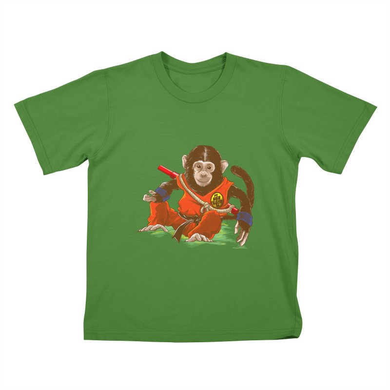 Kakarotto Kids T-Shirt by Alberto Arni's Artist Shop