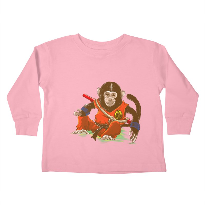 Kakarotto Kids Toddler Longsleeve T-Shirt by Alberto Arni's Artist Shop