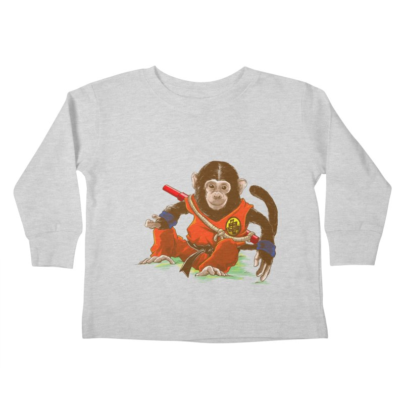 Kakarotto Kids Toddler Longsleeve T-Shirt by Alberto Arni's Artist Shop
