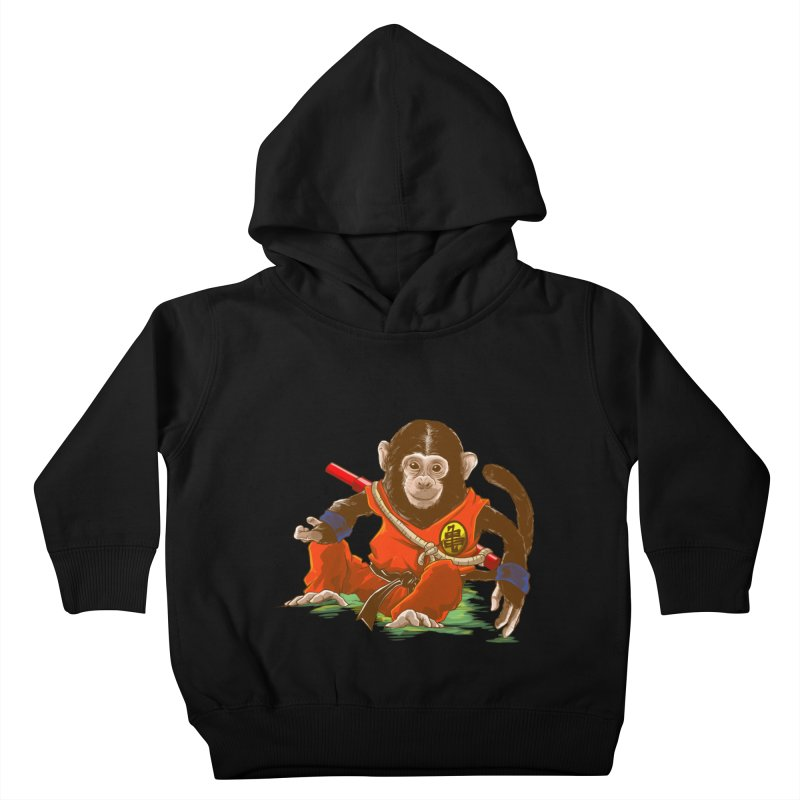 Kakarotto Kids Toddler Pullover Hoody by Alberto Arni's Artist Shop