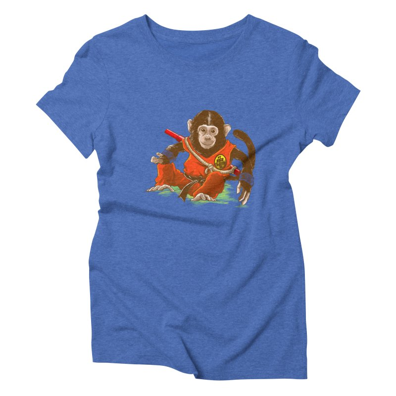 Kakarotto Women's Triblend T-Shirt by Alberto Arni's Artist Shop