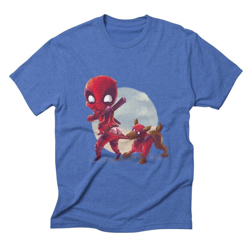 Copperpool Men's Triblend T-Shirt by Alberto Arni's Artist Shop