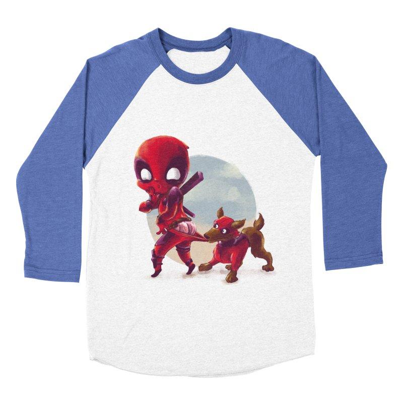 Copperpool Men's Baseball Triblend T-Shirt by Alberto Arni's Artist Shop