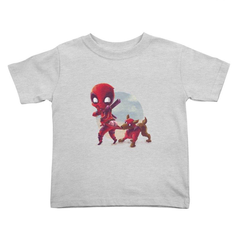 Copperpool Kids Toddler T-Shirt by Alberto Arni's Artist Shop
