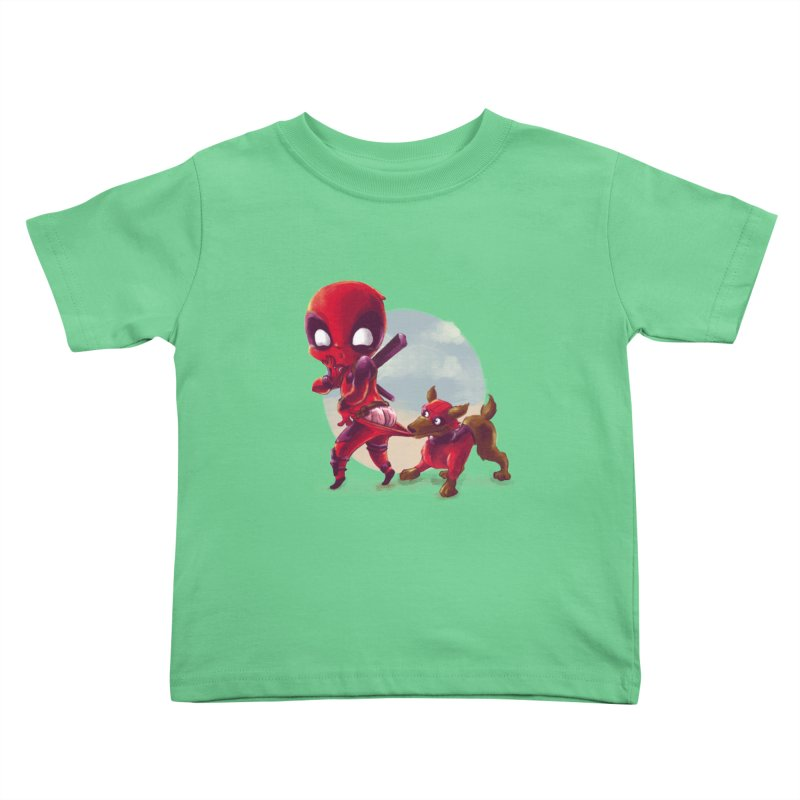 Copperpool Kids Toddler T-Shirt by Alberto Arni's Artist Shop