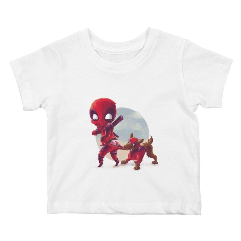 Copperpool Kids Baby T-Shirt by Alberto Arni's Artist Shop