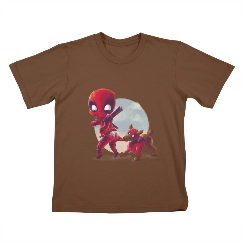 Copperpool Kids T-Shirt by Alberto Arni's Artist Shop