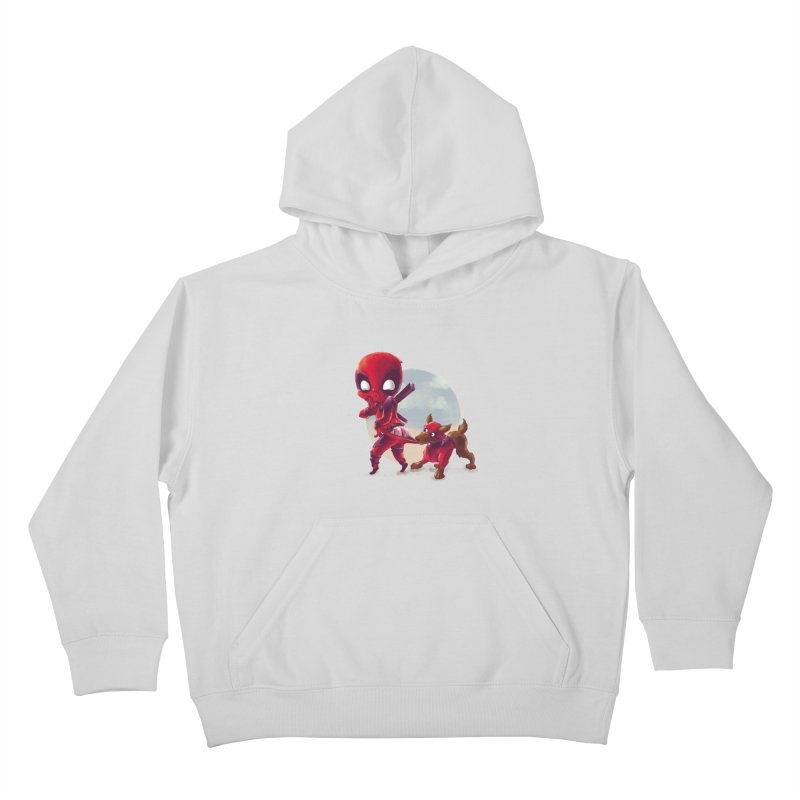 Copperpool Kids Pullover Hoody by Alberto Arni's Artist Shop