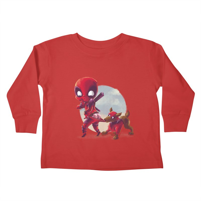 Copperpool Kids Toddler Longsleeve T-Shirt by Alberto Arni's Artist Shop