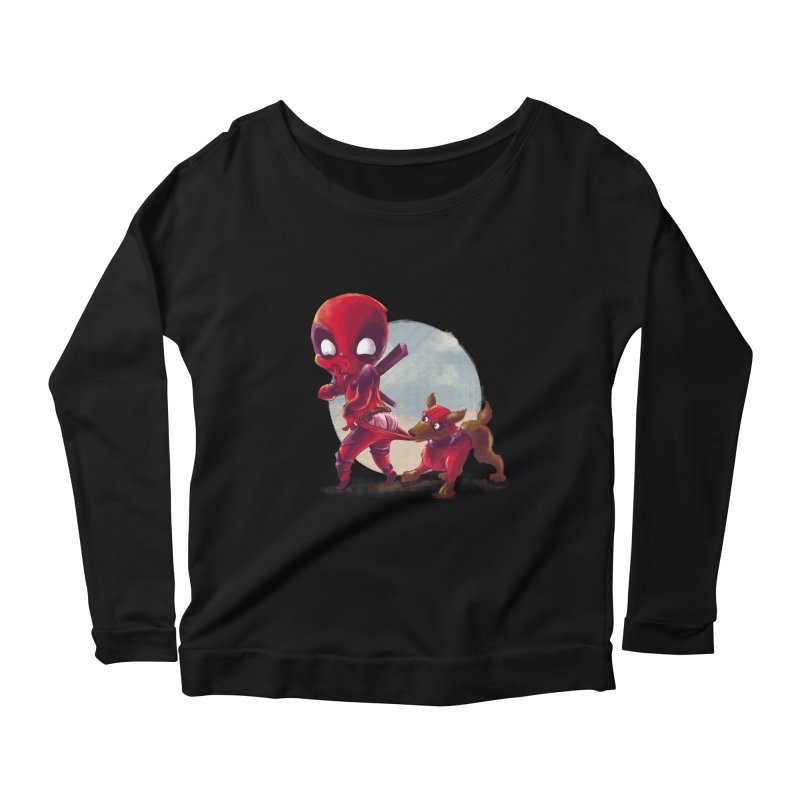 Copperpool Women's Longsleeve Scoopneck  by Alberto Arni's Artist Shop