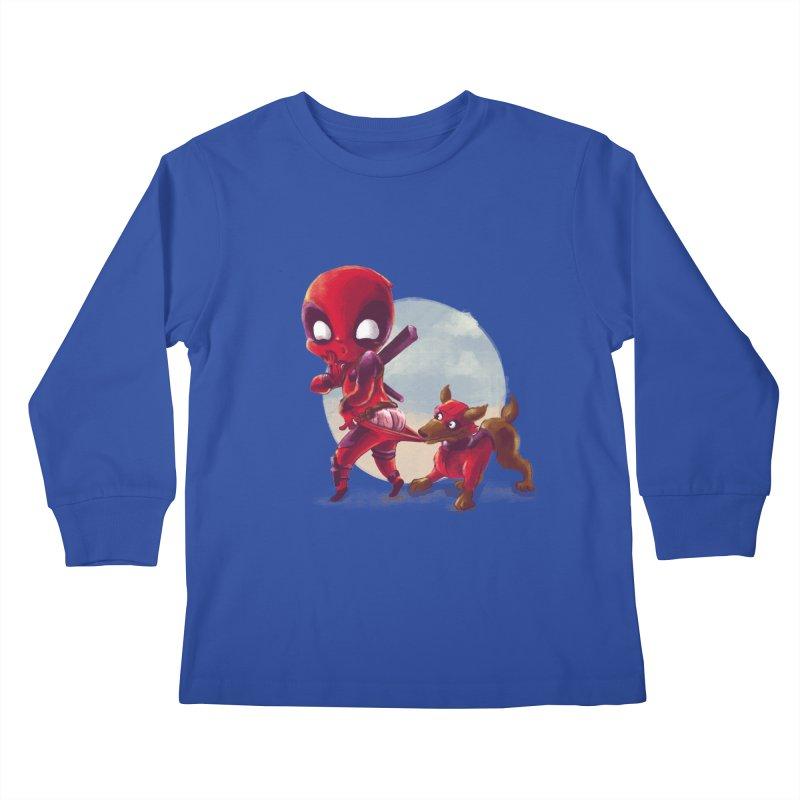 Copperpool Kids Longsleeve T-Shirt by Alberto Arni's Artist Shop
