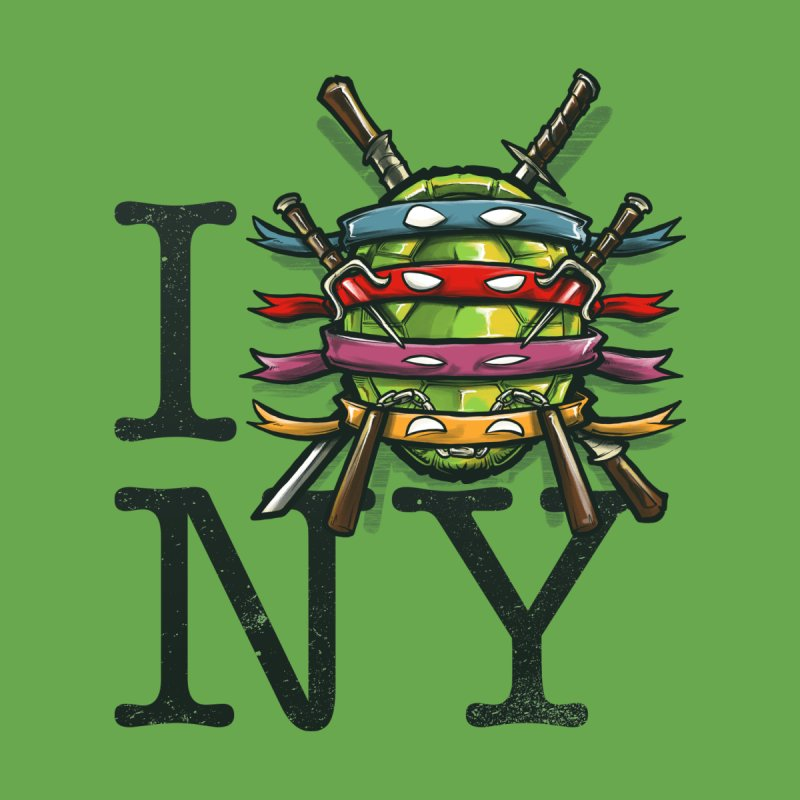 I (Turtle) NY   by Alberto Arni's Artist Shop