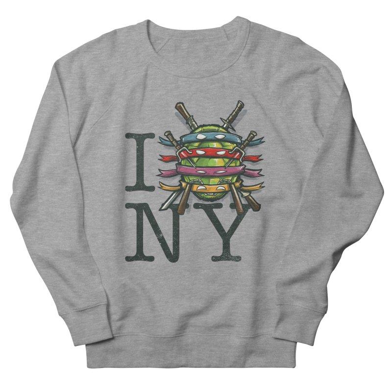 I (Turtle) NY Women's Sweatshirt by Alberto Arni's Artist Shop
