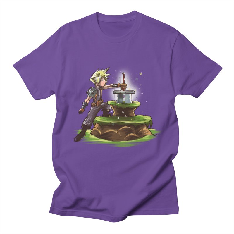 The Buster Sword in the Stone Men's T-shirt by Alberto Arni's Artist Shop