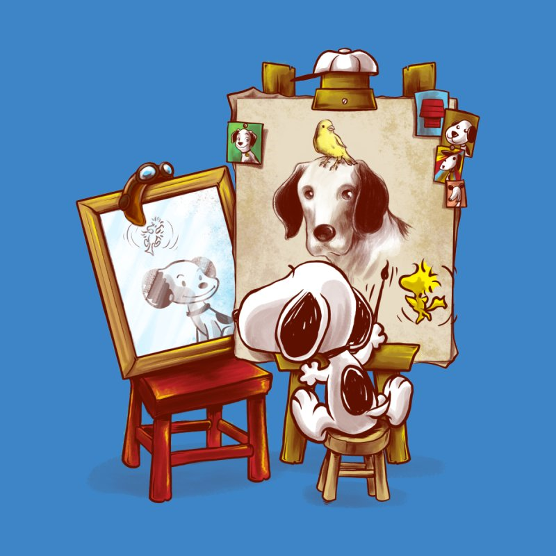 Triple Beagle Portrait   by Alberto Arni's Artist Shop