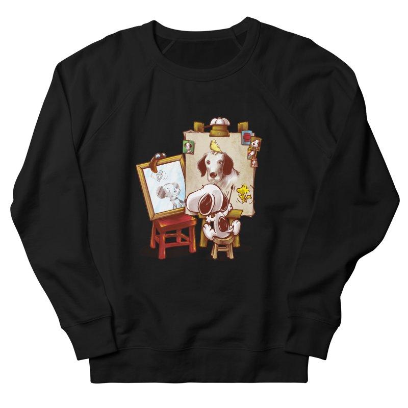Triple Beagle Portrait Women's Sweatshirt by Alberto Arni's Artist Shop