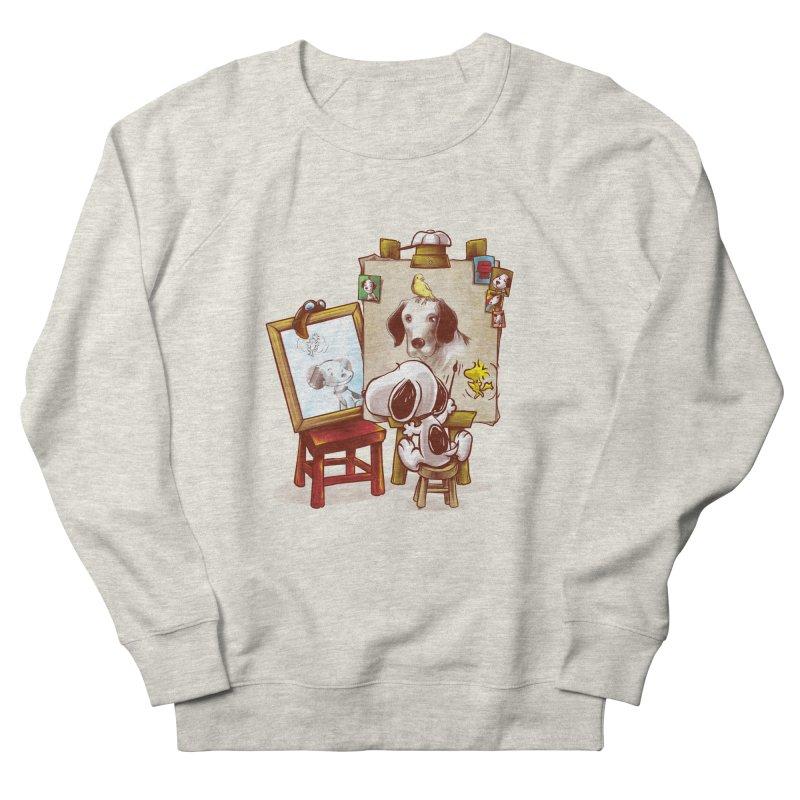 Triple Beagle Portrait Men's Sweatshirt by Alberto Arni's Artist Shop
