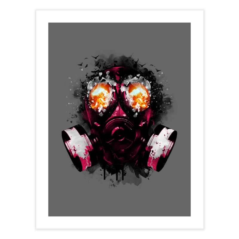 EXPLODE Home Fine Art Print by alchemist's Artist Shop