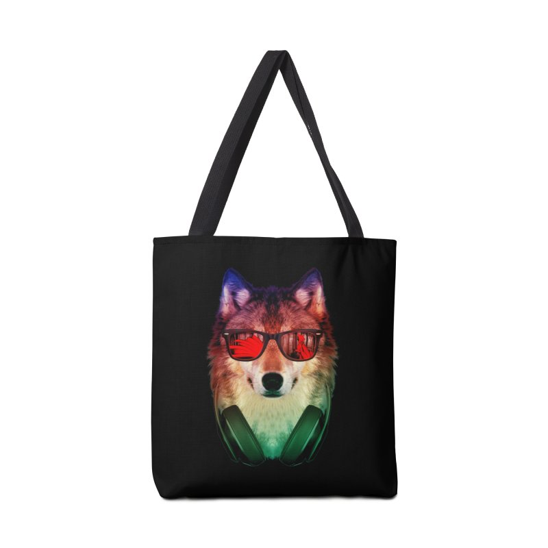 HIPPIE WOLF Accessories Bag by alchemist's Artist Shop