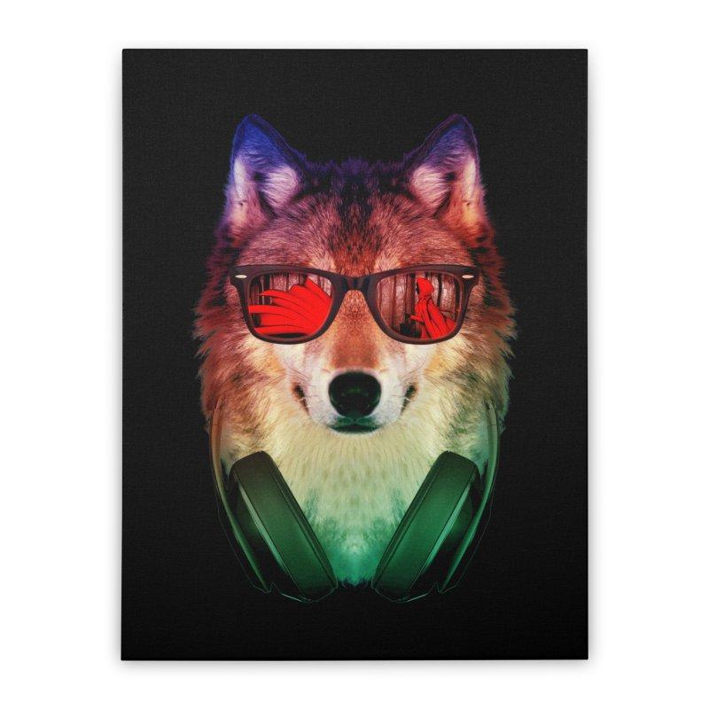 HIPPIE WOLF   by alchemist's Artist Shop