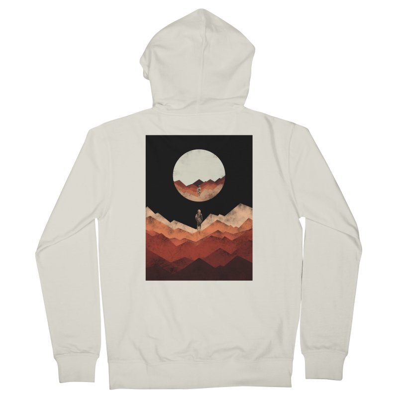 MY REFLECTION Men's Zip-Up Hoody by alchemist's Artist Shop