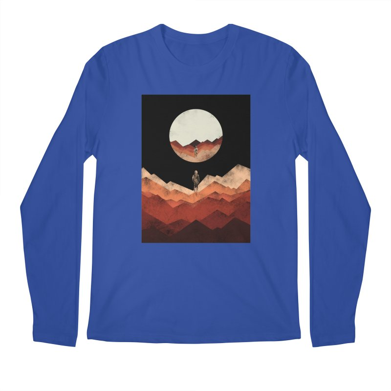 MY REFLECTION Men's Longsleeve T-Shirt by alchemist's Artist Shop
