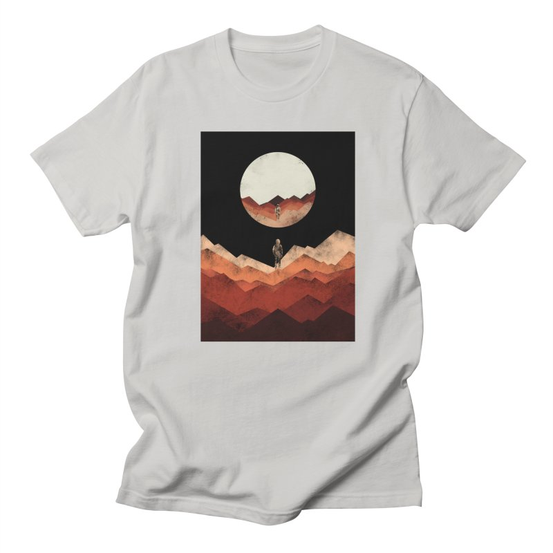 MY REFLECTION Men's T-shirt by alchemist's Artist Shop