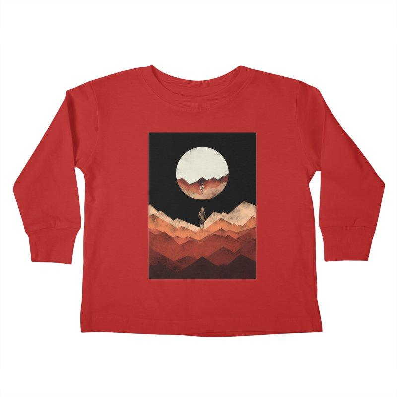MY REFLECTION Kids Toddler Longsleeve T-Shirt by alchemist's Artist Shop