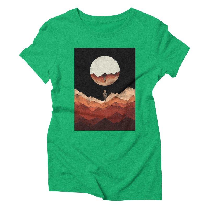 MY REFLECTION Women's Triblend T-shirt by alchemist's Artist Shop