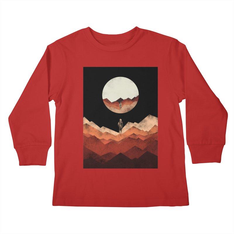 MY REFLECTION Kids Longsleeve T-Shirt by alchemist's Artist Shop