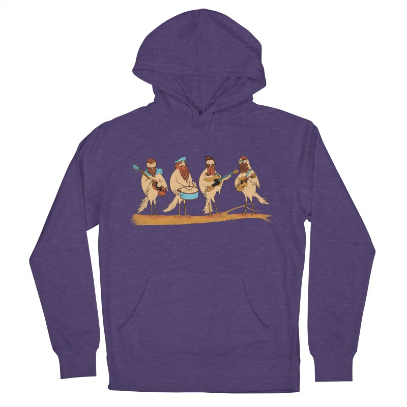 THE BEARD BAND Women's Pullover Hoody by alchemist's Artist Shop