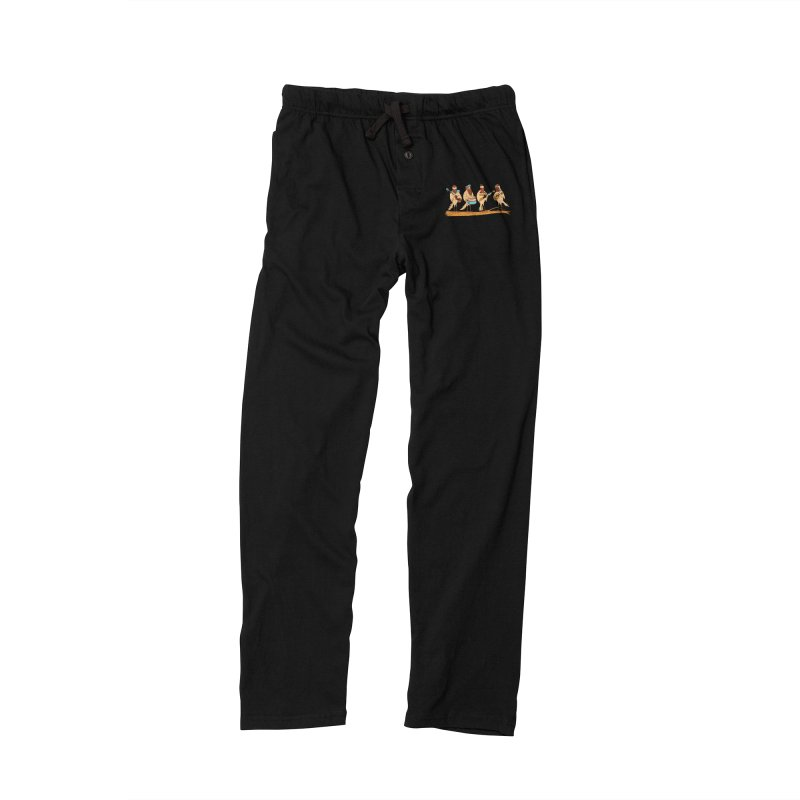 THE BEARD BAND Women's Lounge Pants by alchemist's Artist Shop