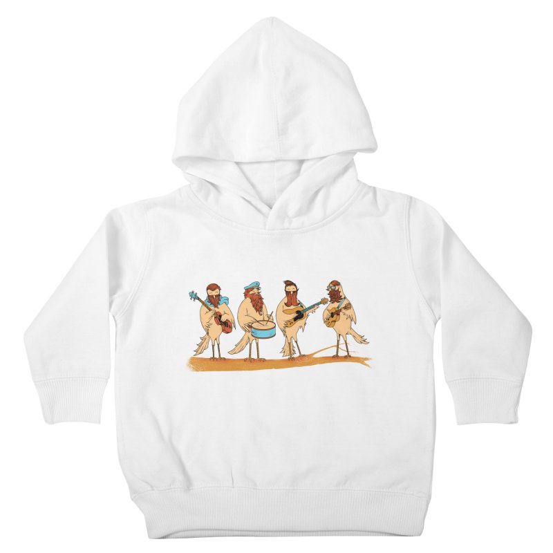 THE BEARD BAND Kids Toddler Pullover Hoody by alchemist's Artist Shop