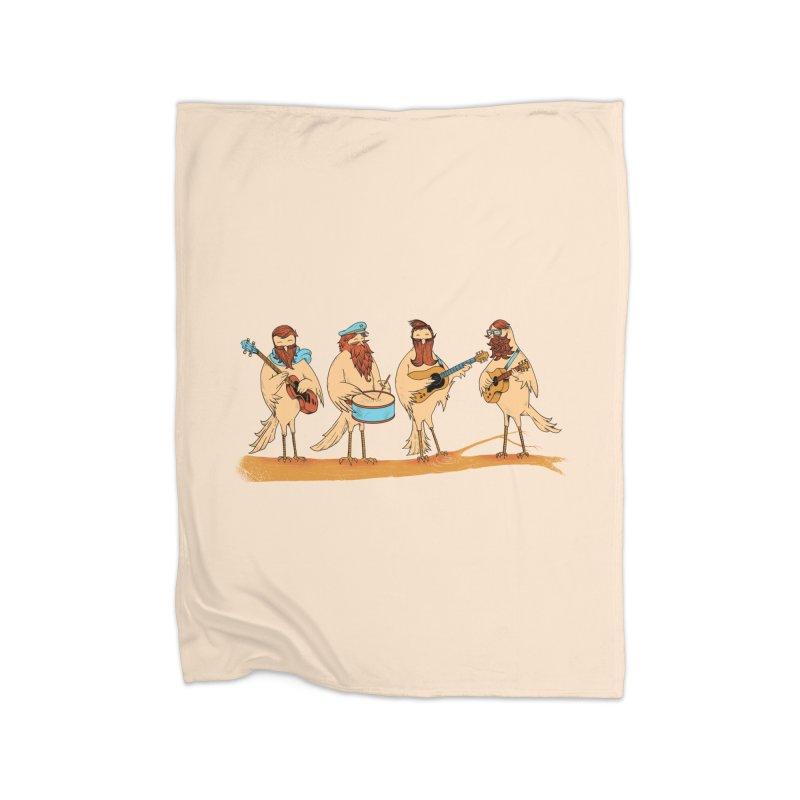 THE BEARD BAND Home Blanket by alchemist's Artist Shop