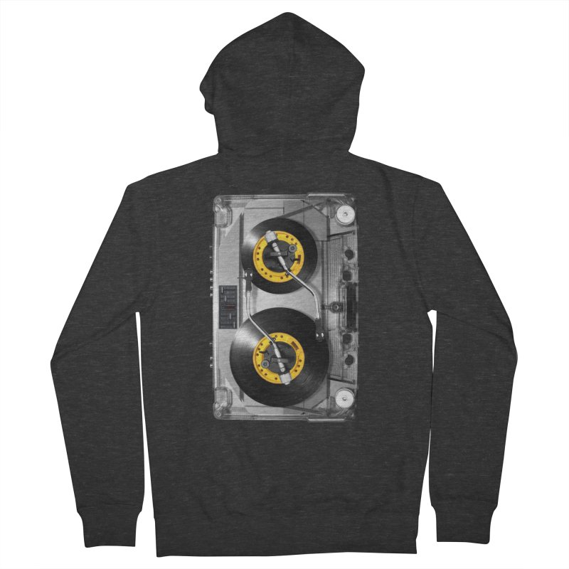 NONSTOP PLAY Men's Zip-Up Hoody by alchemist's Artist Shop