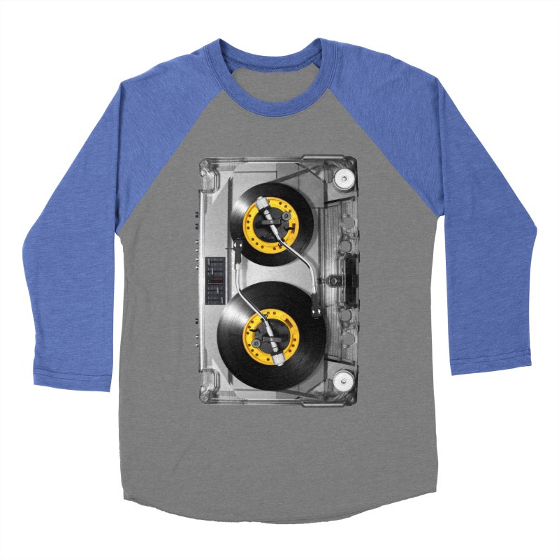 NONSTOP PLAY Women's Baseball Triblend T-Shirt by alchemist's Artist Shop
