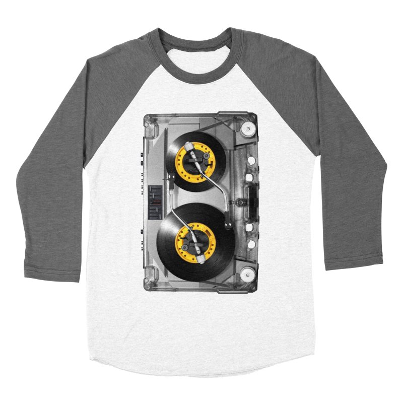 NONSTOP PLAY Men's Baseball Triblend T-Shirt by alchemist's Artist Shop
