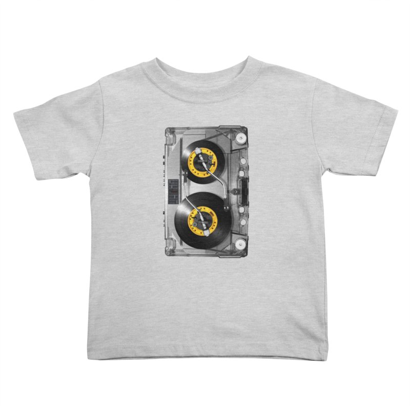 NONSTOP PLAY Kids Toddler T-Shirt by alchemist's Artist Shop