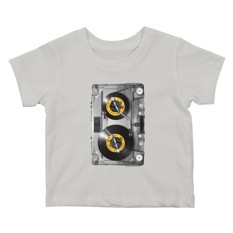 NONSTOP PLAY Kids Baby T-Shirt by alchemist's Artist Shop