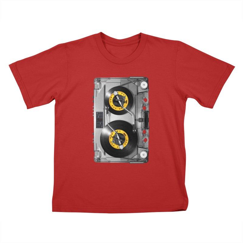 NONSTOP PLAY Kids T-shirt by alchemist's Artist Shop