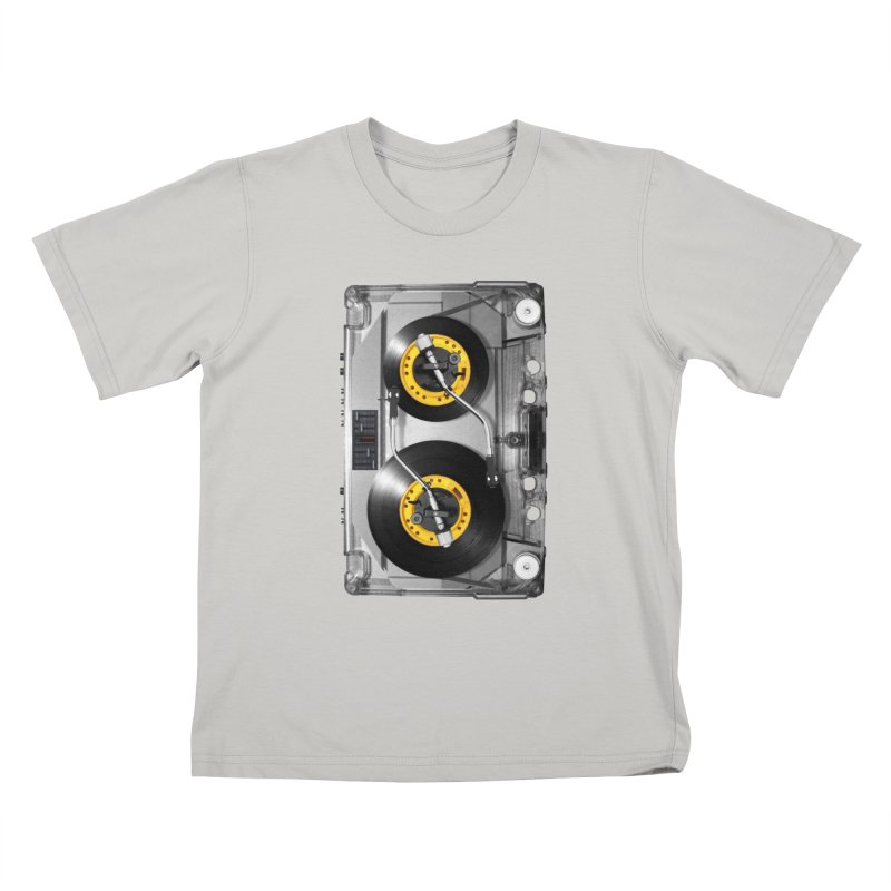 NONSTOP PLAY Kids T-shirt by alchemist's Artist Shop