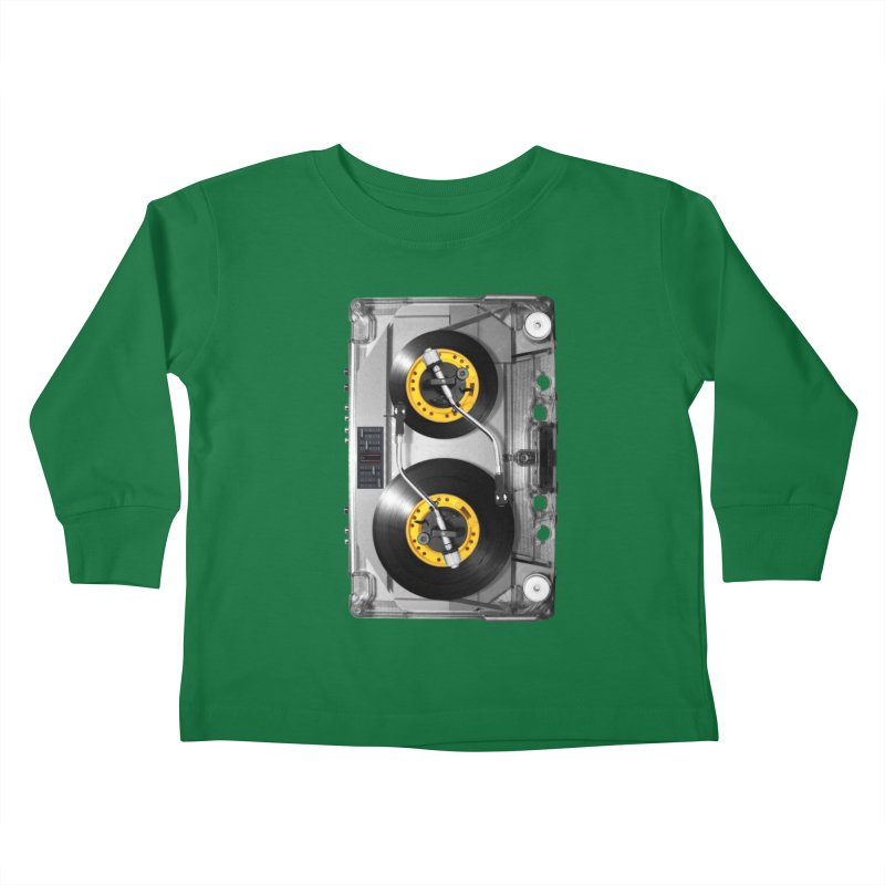 NONSTOP PLAY Kids Toddler Longsleeve T-Shirt by alchemist's Artist Shop