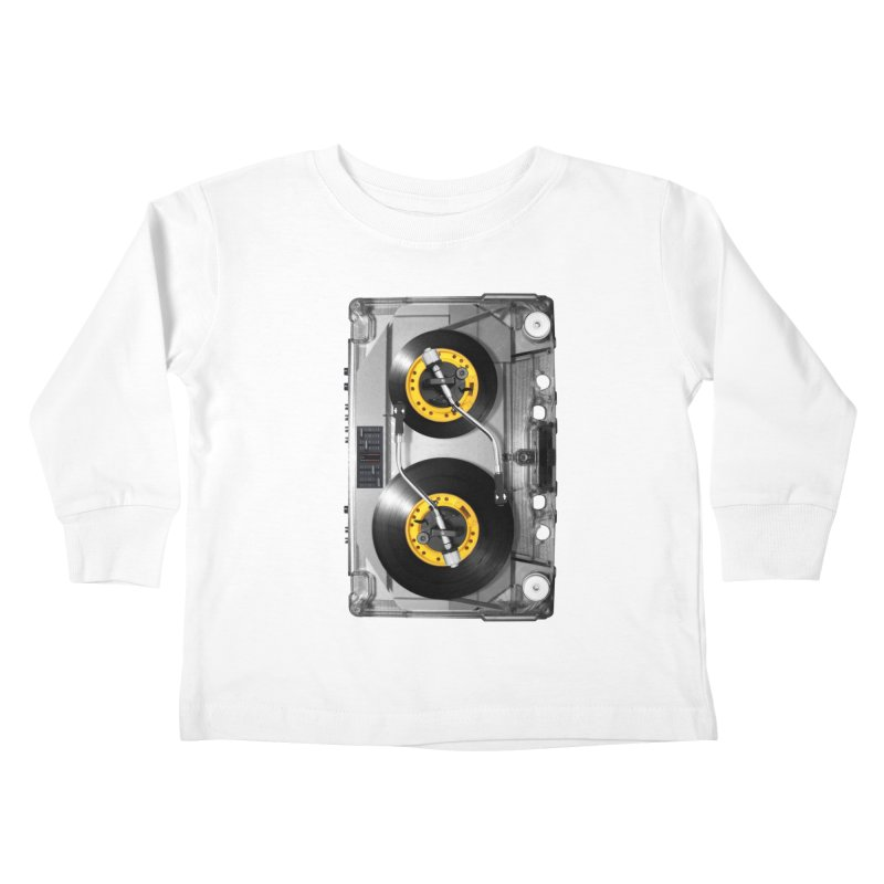 NONSTOP PLAY Kids Toddler Longsleeve T-Shirt by alchemist's Artist Shop
