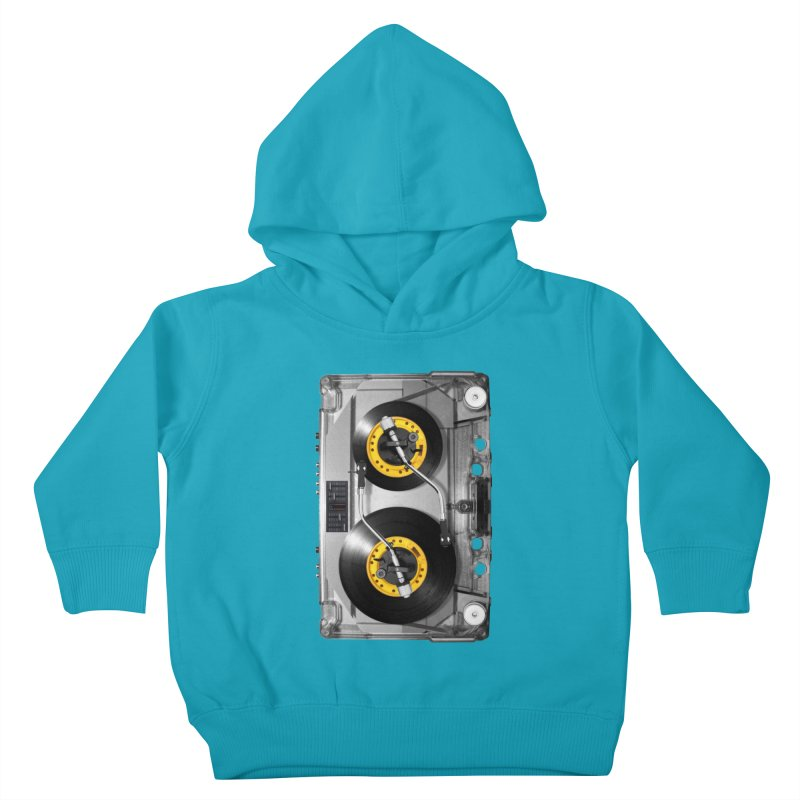 NONSTOP PLAY Kids Toddler Pullover Hoody by alchemist's Artist Shop