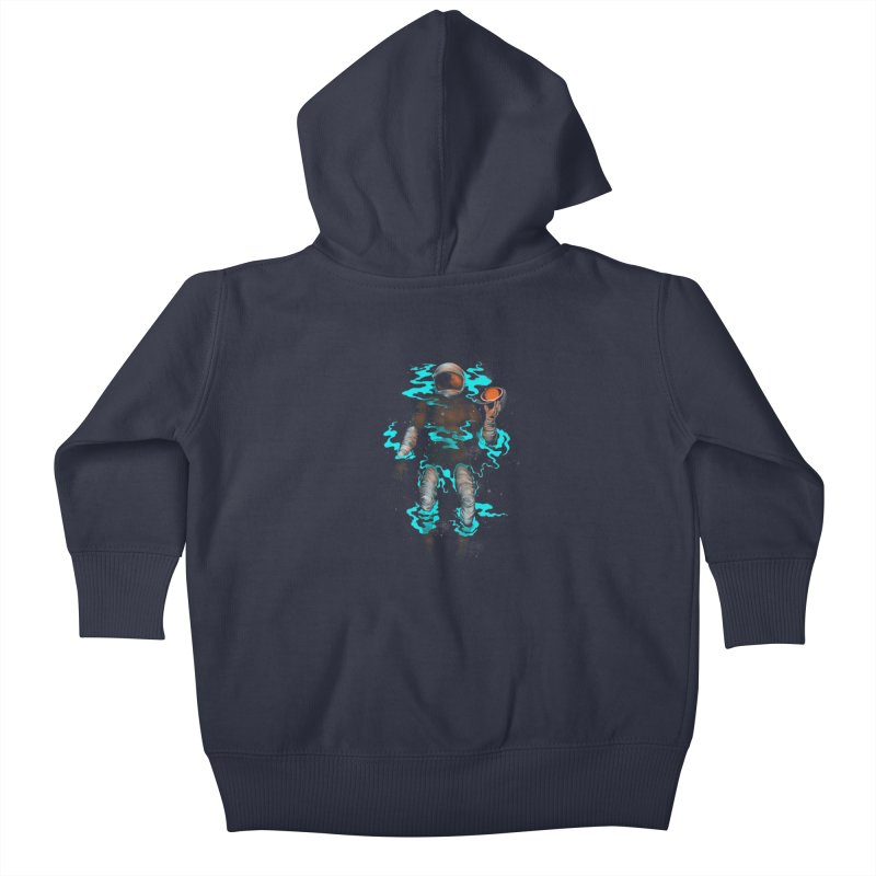STELLAR Kids Baby Zip-Up Hoody by alchemist's Artist Shop