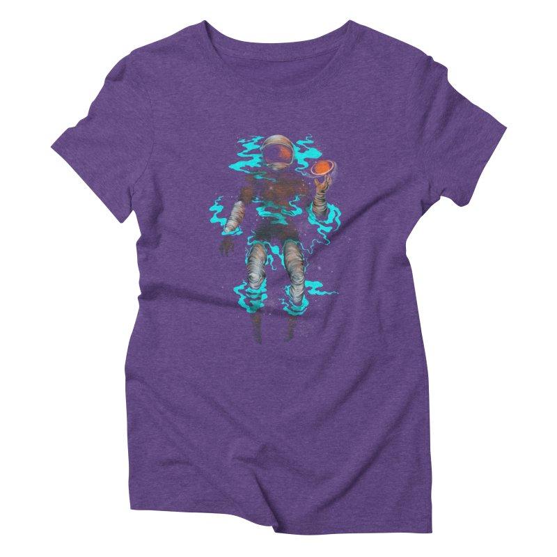 STELLAR Women's Triblend T-shirt by alchemist's Artist Shop