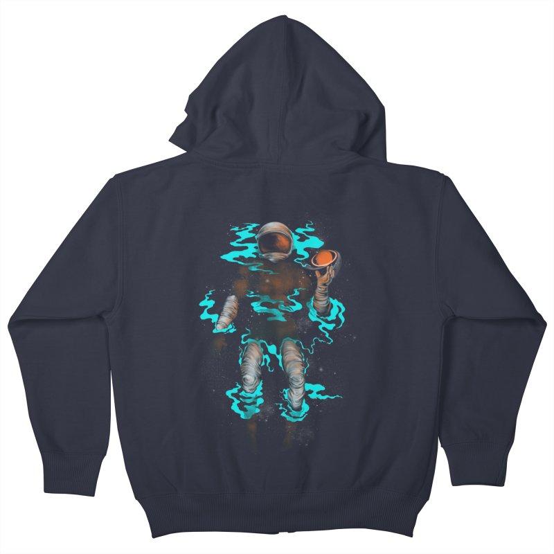 STELLAR Kids Zip-Up Hoody by alchemist's Artist Shop