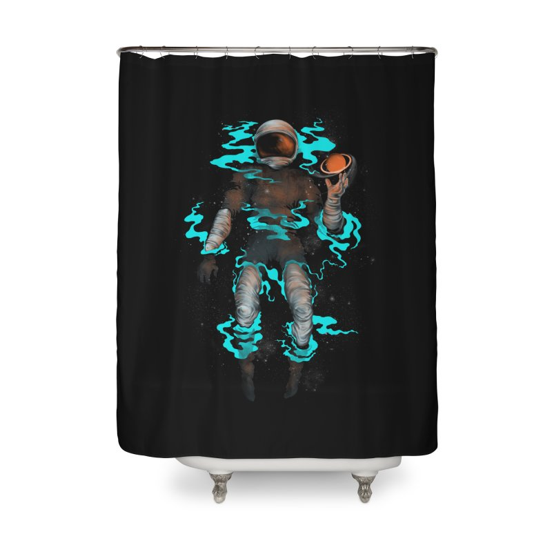 STELLAR Home Shower Curtain by alchemist's Artist Shop