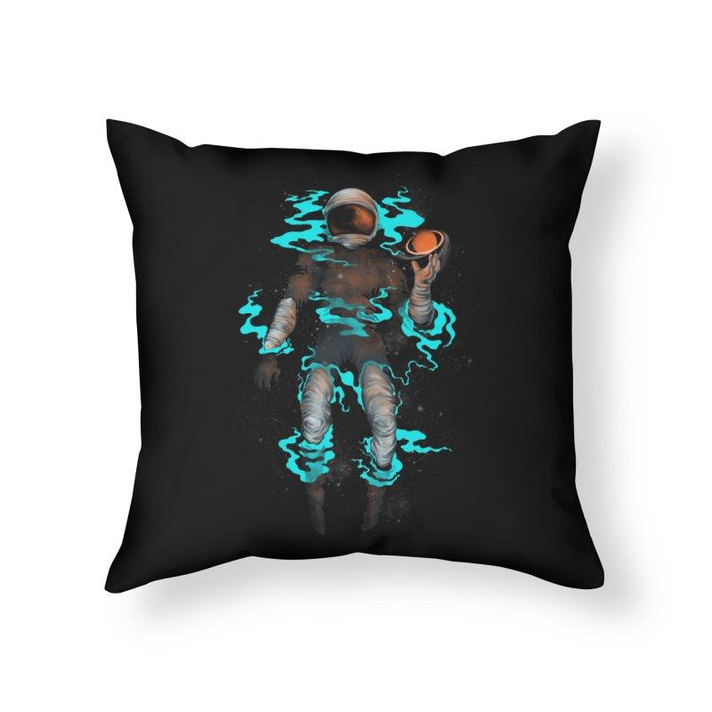 STELLAR Home Throw Pillow by alchemist's Artist Shop
