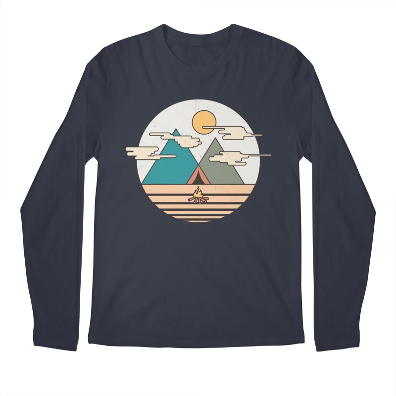 BENEATH THE MOUNTAINS Men's Longsleeve T-Shirt by alchemist's Artist Shop